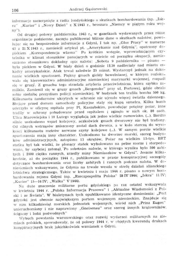 Gdynia w świetle publikacji konspiracyjnych z lat 1939-1944