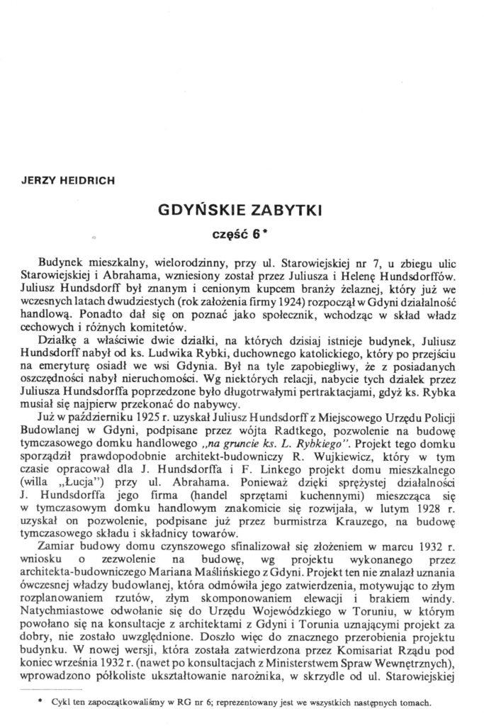 Gdyńskie zabytki: część  6
