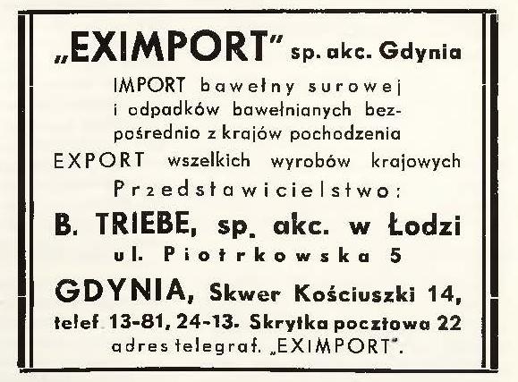 EXIMPORT sp. akc. Gdynia