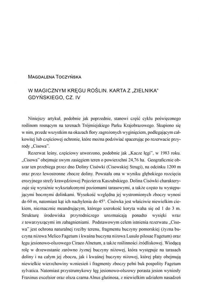 """W magicznym kręgu roślin. Karta z """"Zielnika"""" Gdyńskiego, cz. IV"""