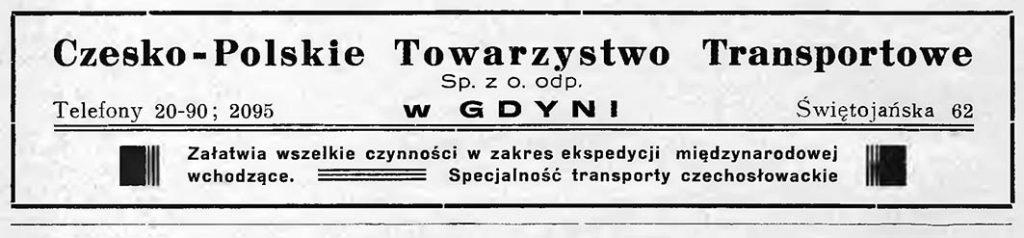 CZESKO - POLSKIE Towarzystwo Transportowe