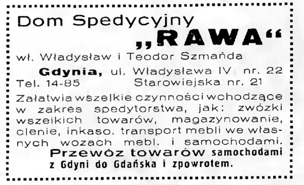 Dom Spedycyjny RAWA