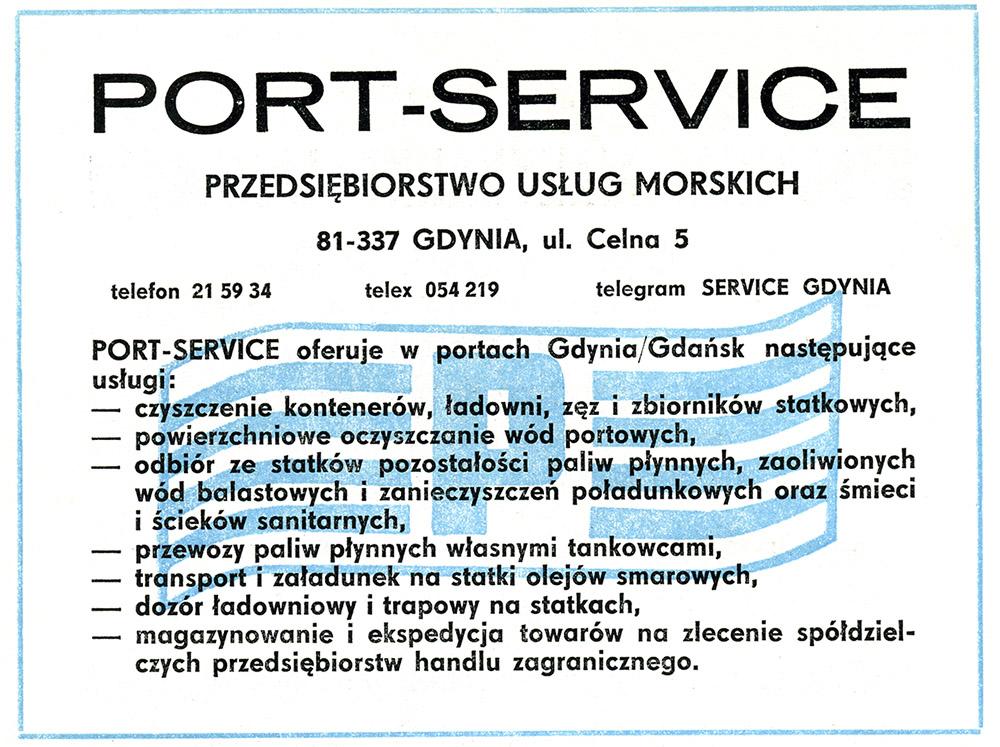 PORT-SERVICE Przedsiębiorstwo Usług Morskich