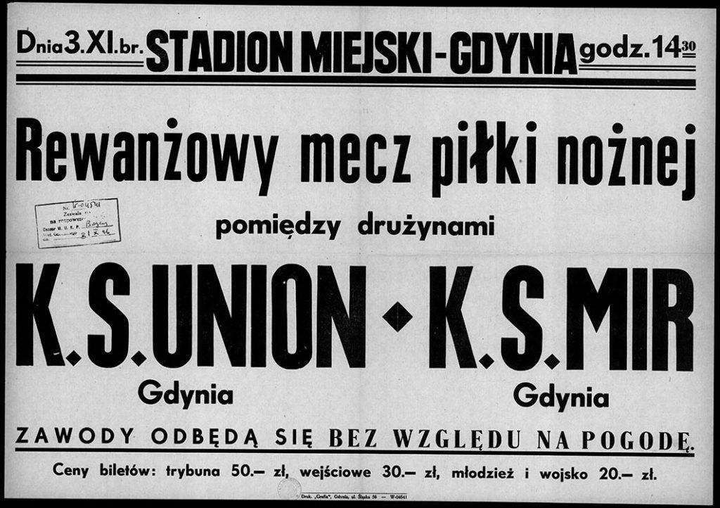 Rewanżowy mecz piłki nożnej K.S. UNION - K.S. MIR