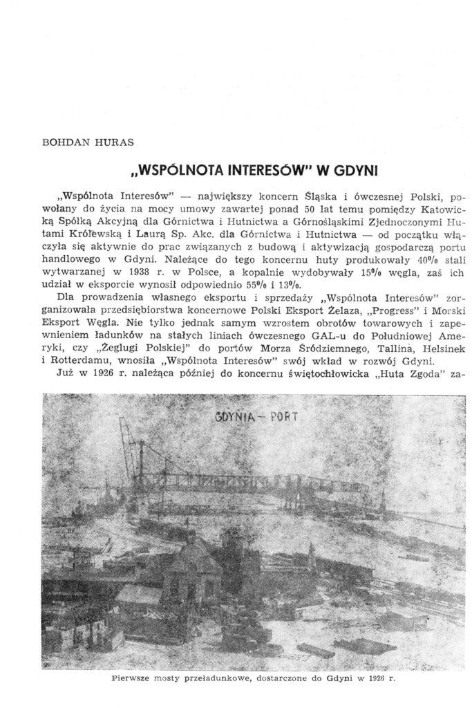 """""""Wspólnota Interesów"""" w Gdyni"""