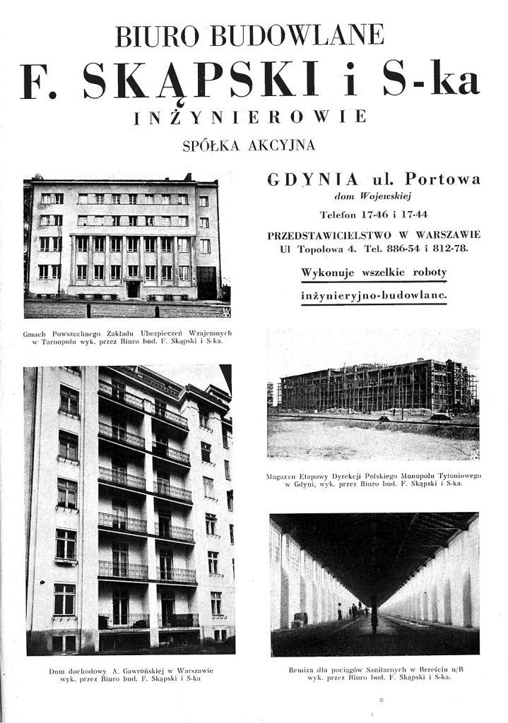 BIURO BUDOWLANE F. SKĄPSKI i S-Kka