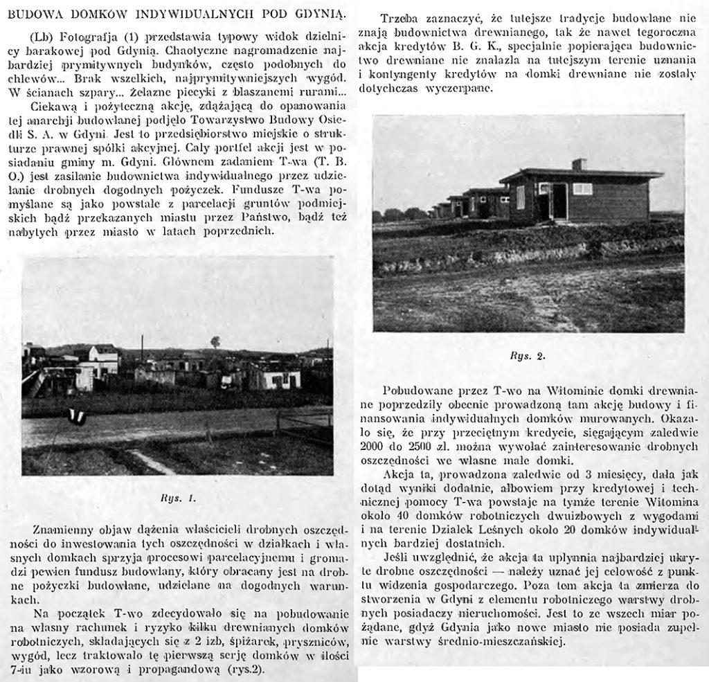 Budowa domków indywidualnych pod Gdynią