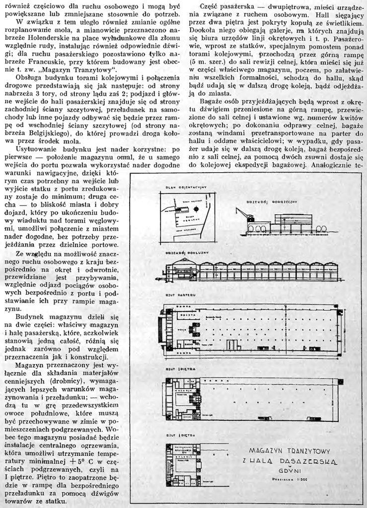 Budowa magazynu tranzytowego wraz z halą pasażerską w Gdyni
