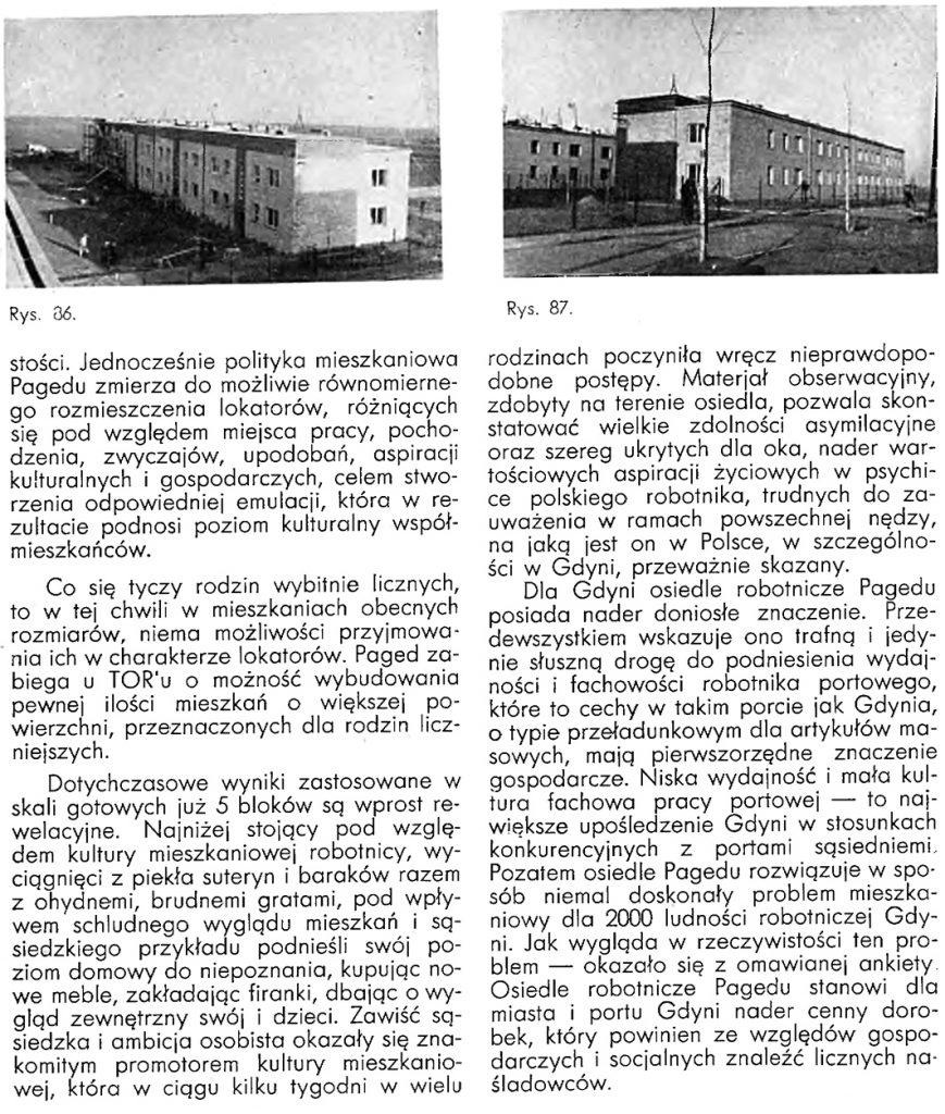 Mieszkanie Robotnicze a rozwój portu