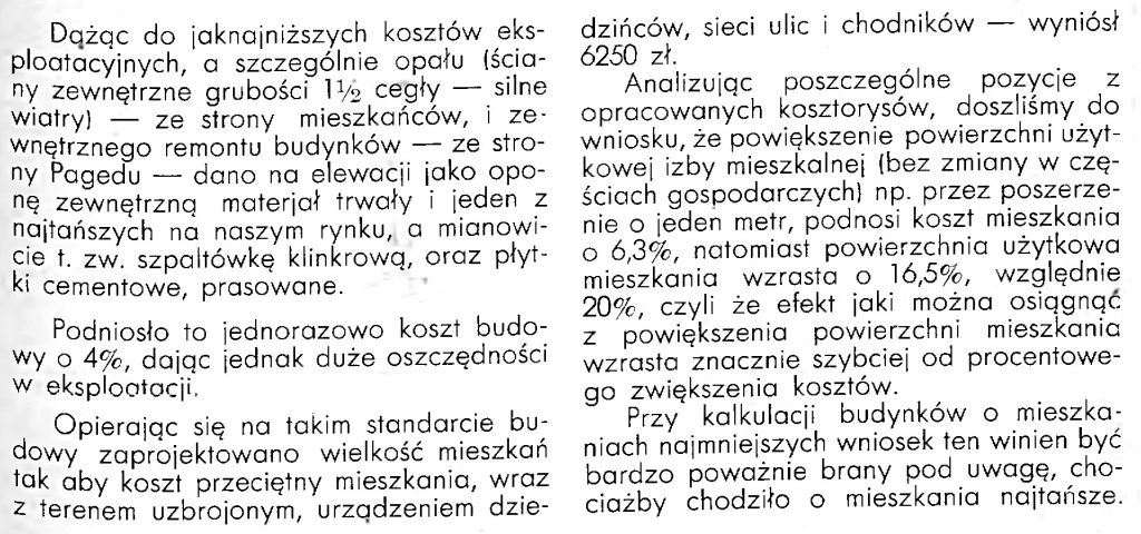 Osiedle robotnicze Paged'u w Gdyni - Oksywiu