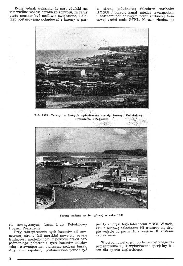 Rzut oka na warunki powstania portu w Gdyni 5