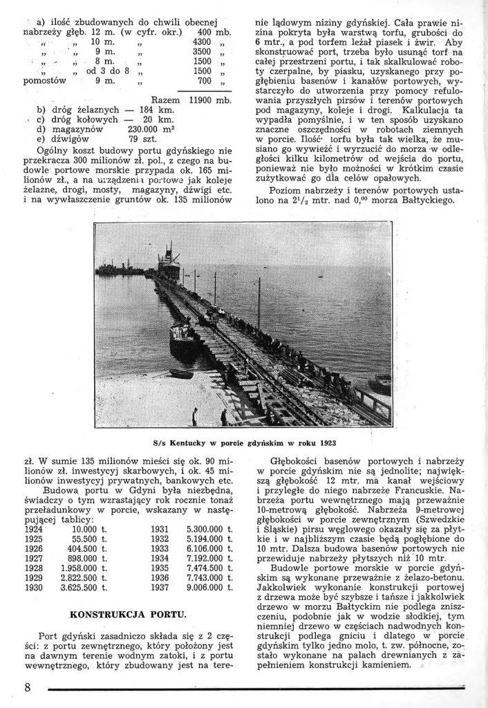 Rzut oka na warunki powstania portu w Gdyni 7