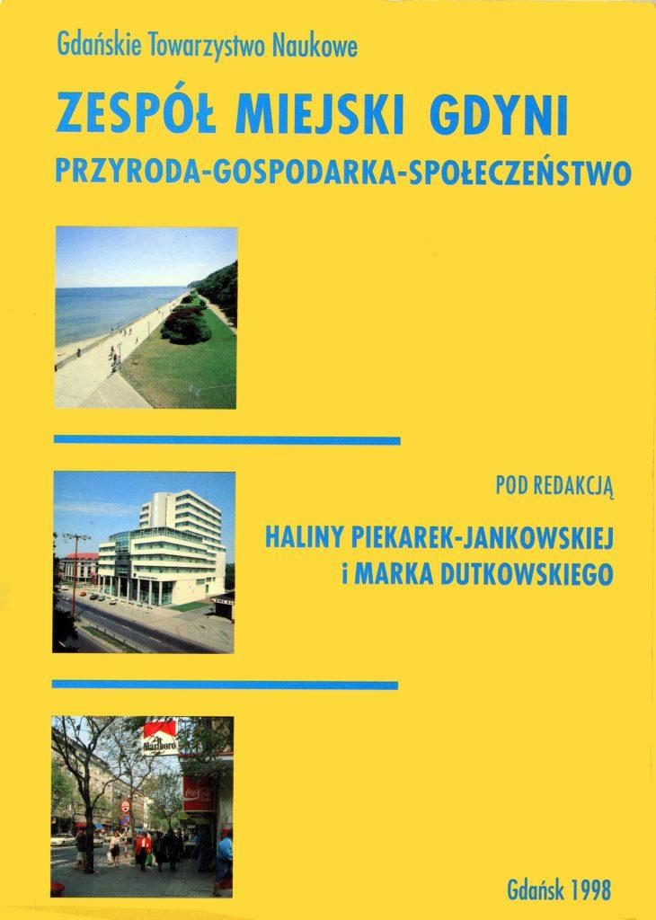 Zespół miejski Gdyni: przyroda - gospodarka - społeczeństwo