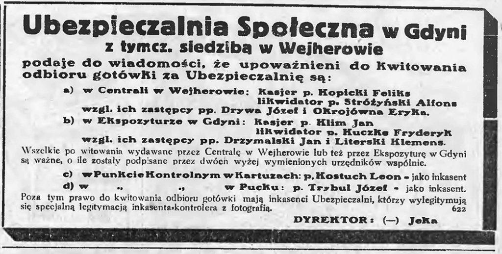 Ubezpieczalnia Społeczna w Gdyni
