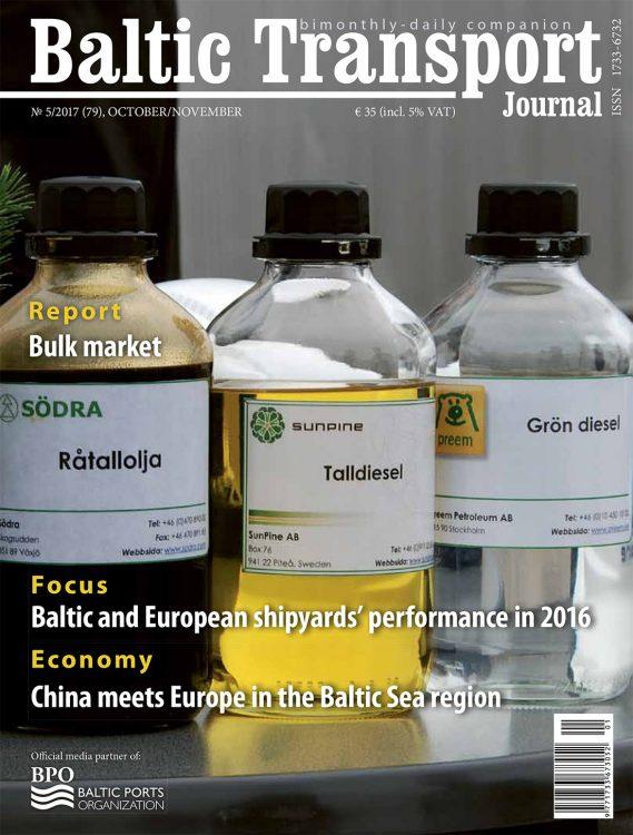 BALTIC TRANSPORT JOURNAL 2017, nr 5