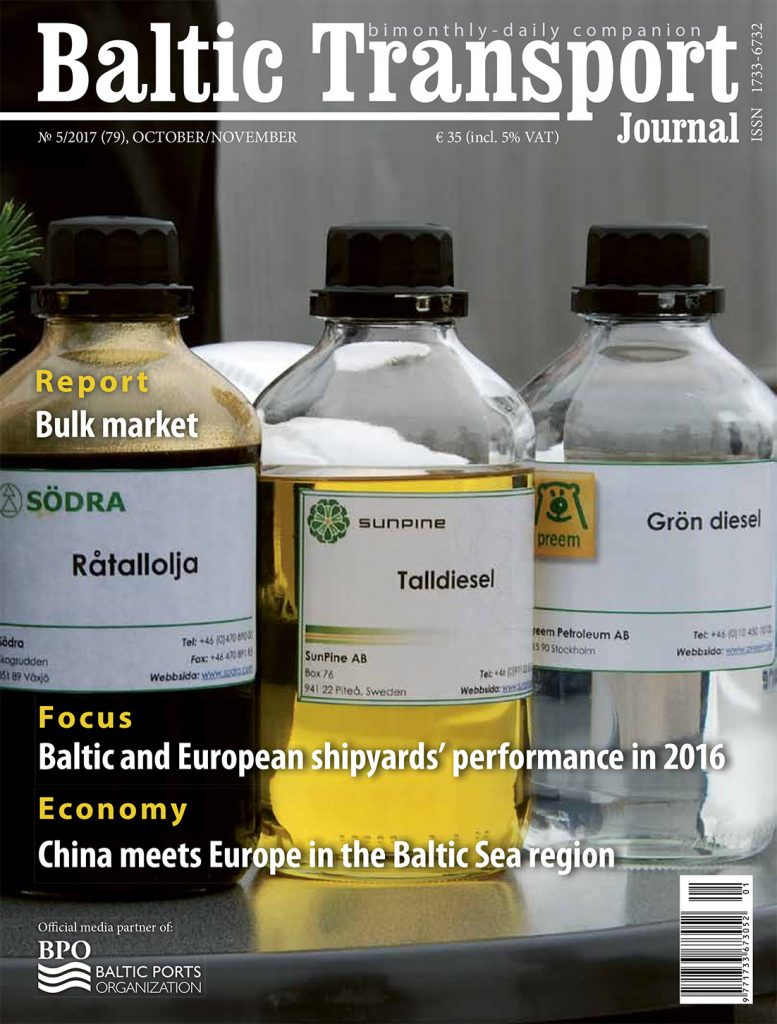 BALTIC TRANSPORT JOURNAL 2017, nr 5