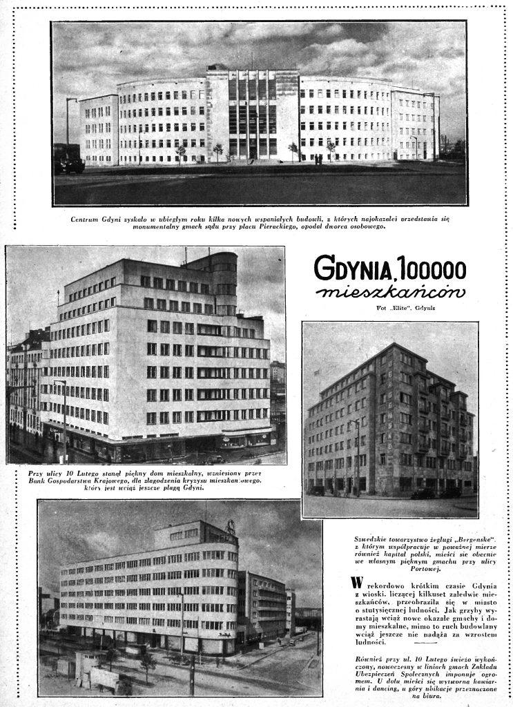 Gdynia, 100000 mieszkańców