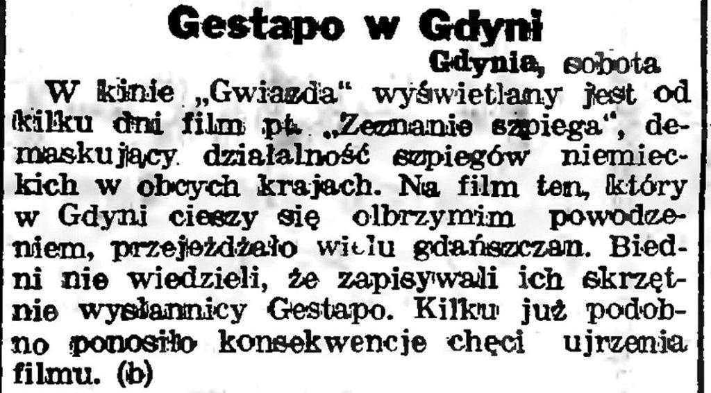 Gestapo w Gdyni