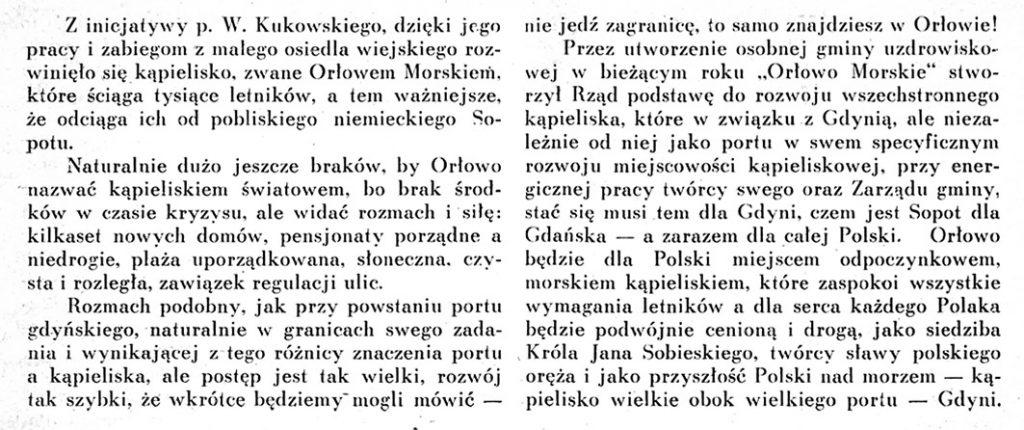 Kolibki - Orłowo Morskie siedziba króla Jana Sobieskiego 2