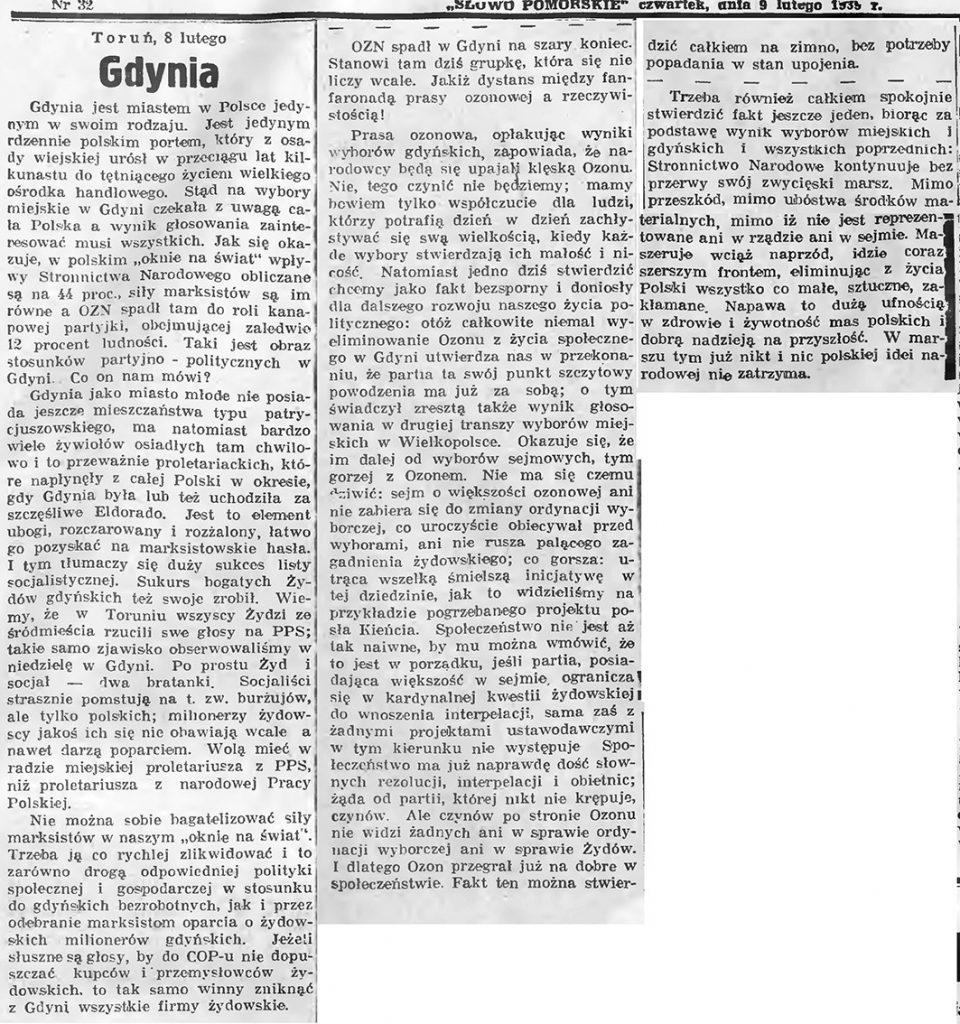 [Wybory w Gdyni]