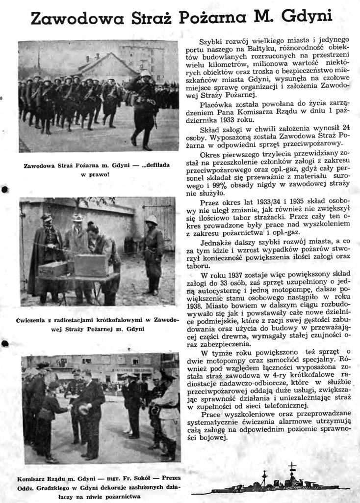 Zawodowa Straz Pożarna M. Gdyni