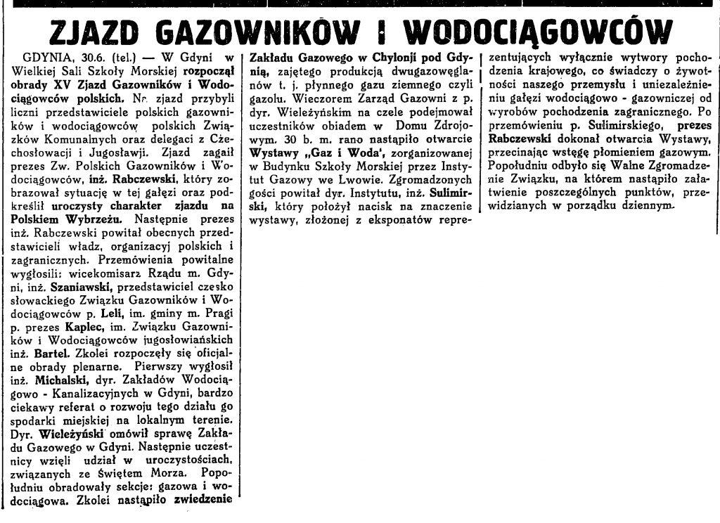 Zjazd Gazowników i Wodociągowców