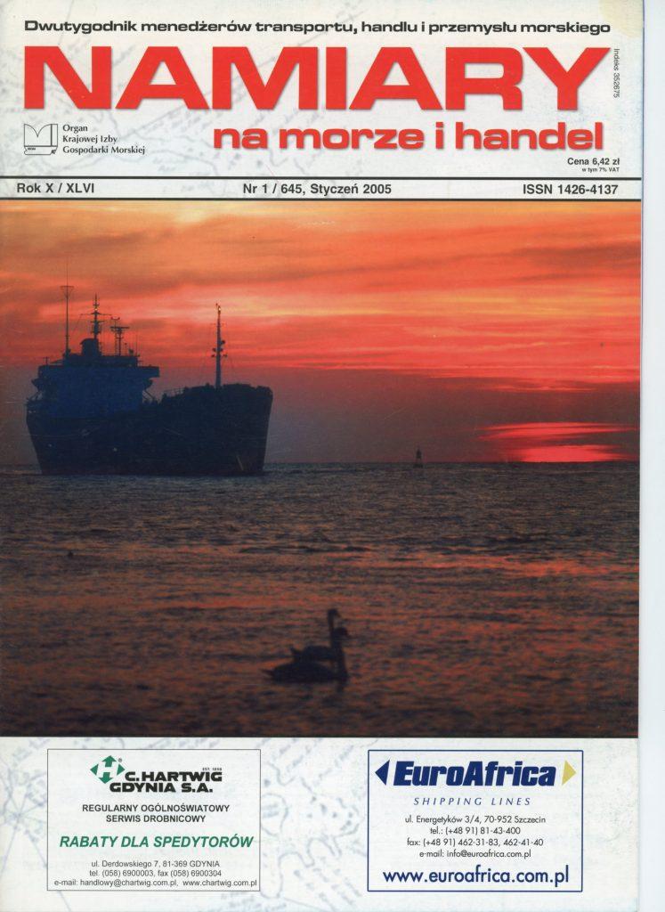 Namiary na morzei handel