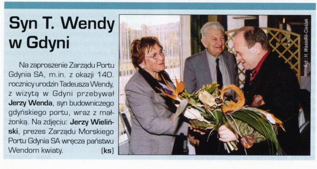 Syn T. Wendy w Gdyni