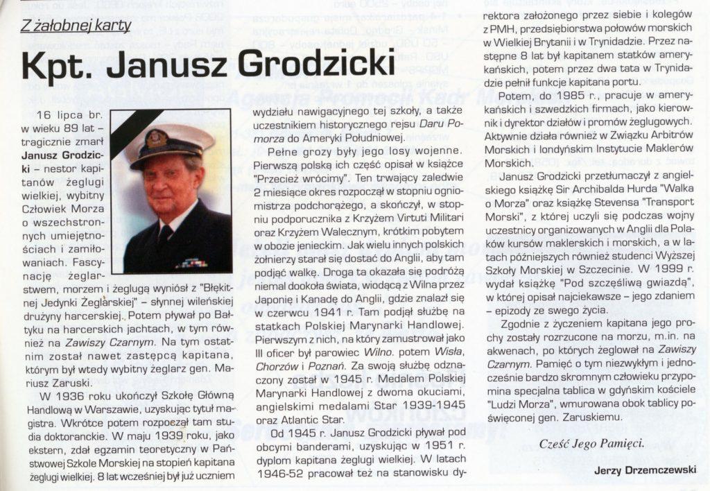 kpt Janusz Grodzicki
