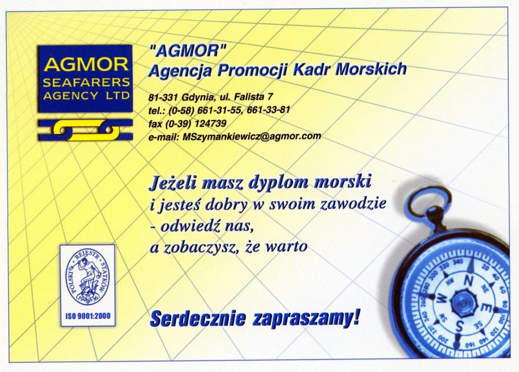 AGMOR Agencja PromocjiKadr Morskich