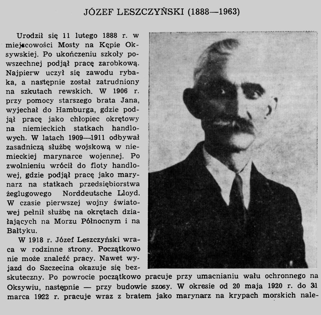Leszczyński Józef