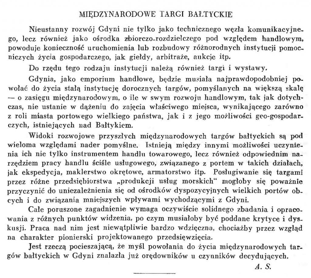 Międzynarodowe Targi Bałtyckie