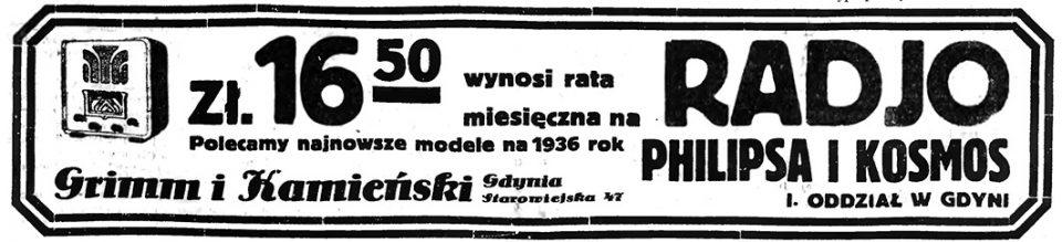 Grimm i Kamieński Gdynia Starowiejska 47