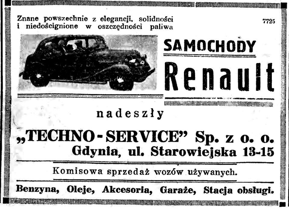Samochody Renault Techno - Service Starowiejska