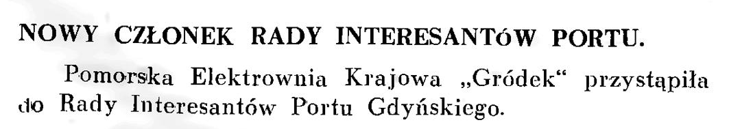 Nowy członek Rady Interesantów Portu