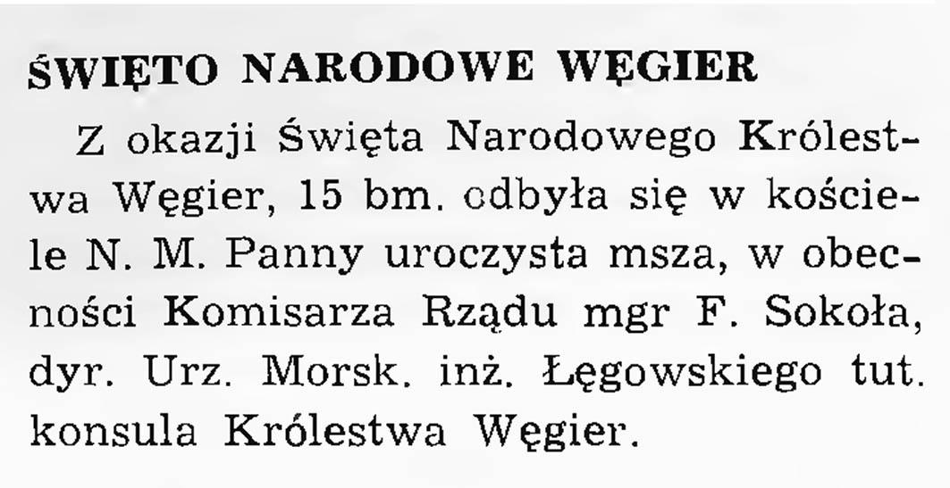Święto narodowe Węgier