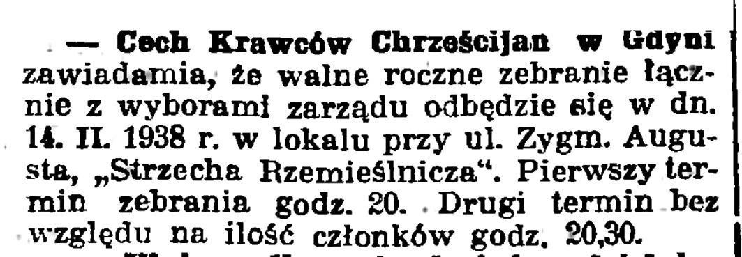 Cech Krawców Chrześcijan w Gdyni