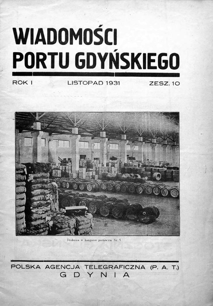 Wiadomości Portu Gdyńskiego.
