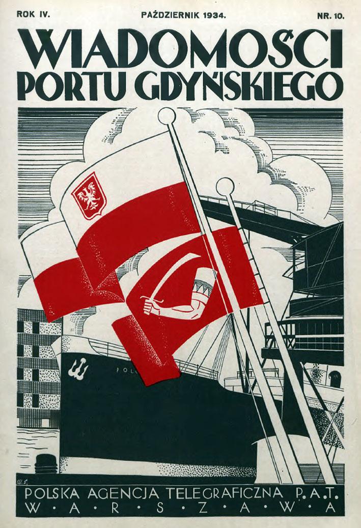 Wiadomości Portu Gdyńskiego. - 1934, z. 10
