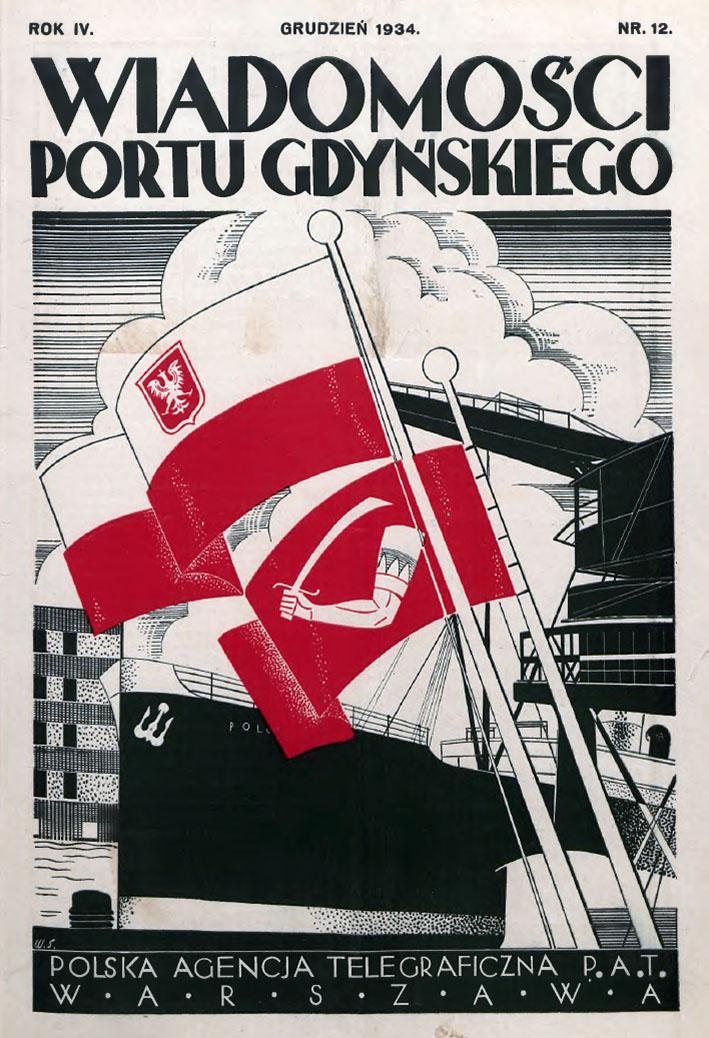 Wiadomości Portu Gdyńskiego. - 1934, z. 12