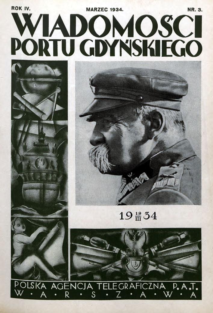 Wiadomości Portu Gdyńskiego. - 1934