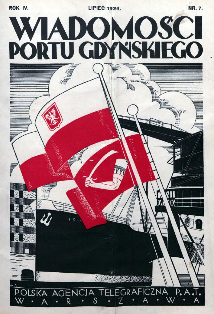Wiadomości Portu Gdyńskiego. - 1934, z. 7
