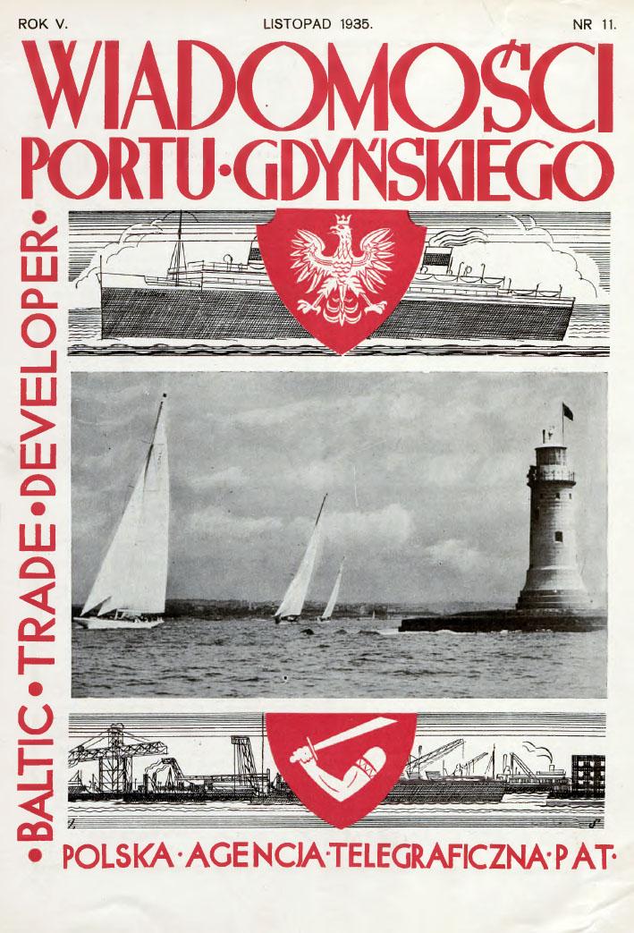 Wiadomości Portu Gdyńskiego. - 1935, z. 11