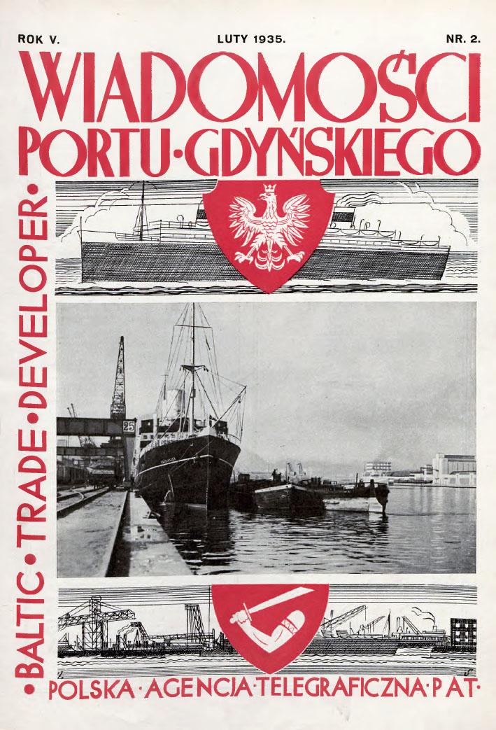 Wiadomości Portu Gdyńskiego. - 1935, z. 2