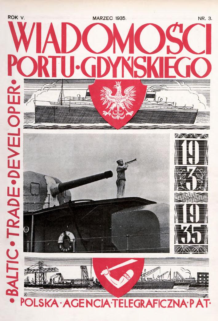 Wiadomości Portu Gdyńskiego. - 1935, z. 3
