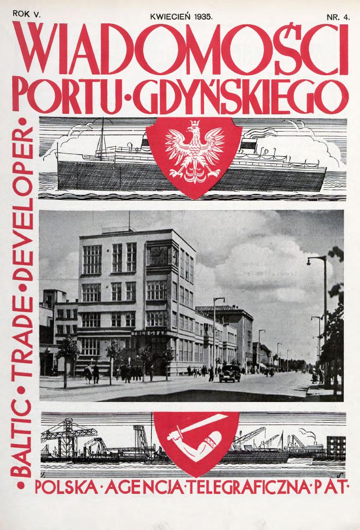 Wiadomości Portu Gdyńskiego. - 1935, z. 4