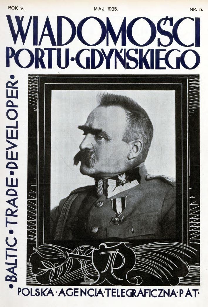 Wiadomości Portu Gdyńskiego. - 1935, z. 5