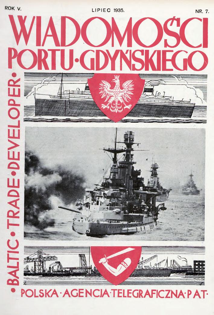 Wiadomości Portu Gdyńskiego. - 1935, z. 7