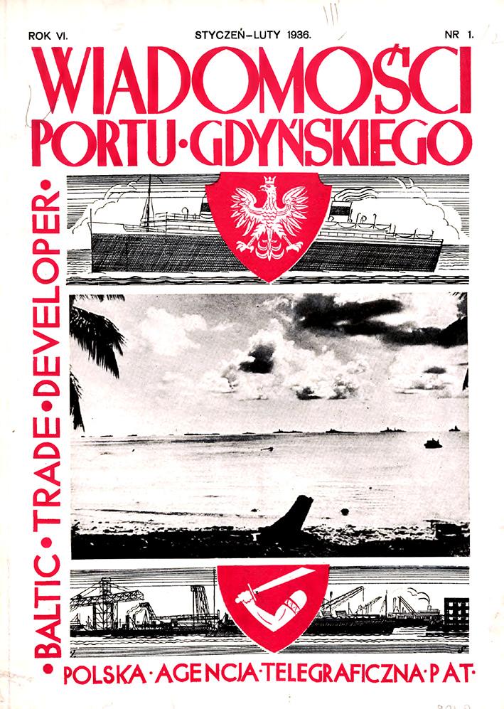 Wiadomości Portu Gdyńskiego. - 1936, z. 1/2