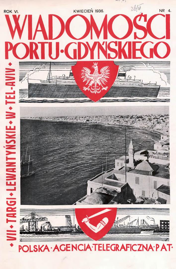 Wiadomości Portu Gdyńskiego. - 1937, nr 4